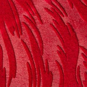 Visiniu piele intoarsa texturat cu frunze