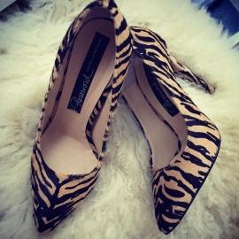 Pantofi animal print