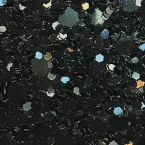 Glitter negru