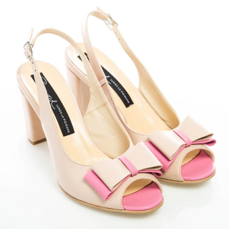 Sandale cu fundă 2