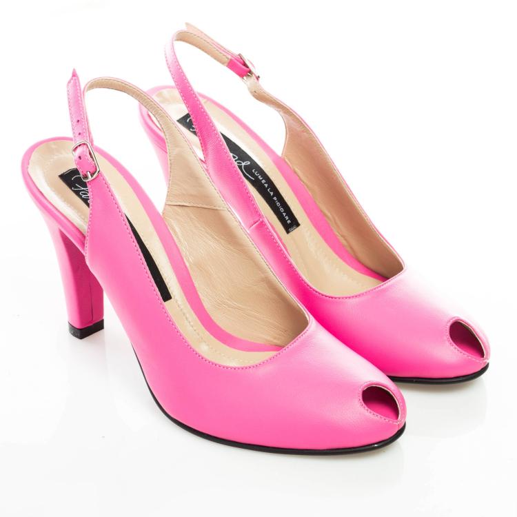 Pantofi peep toe 2
