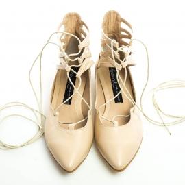Pantofi cu şiret 4