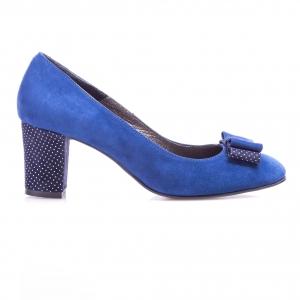 Pantofi clasici cu toc şi fundiţă Mia 3