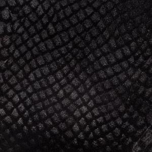 Negru croco piele intoarsa
