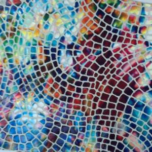 Multicolor mozaic