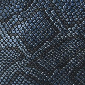 Albastru gri snake print