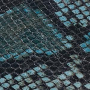 Snake verde albastru