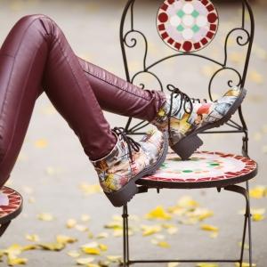 Bocanci cu şireturi Vogue 3