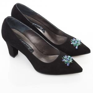 Pantofi cu toc gros 5