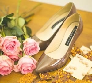 Pantofi stiletto Chocolat
