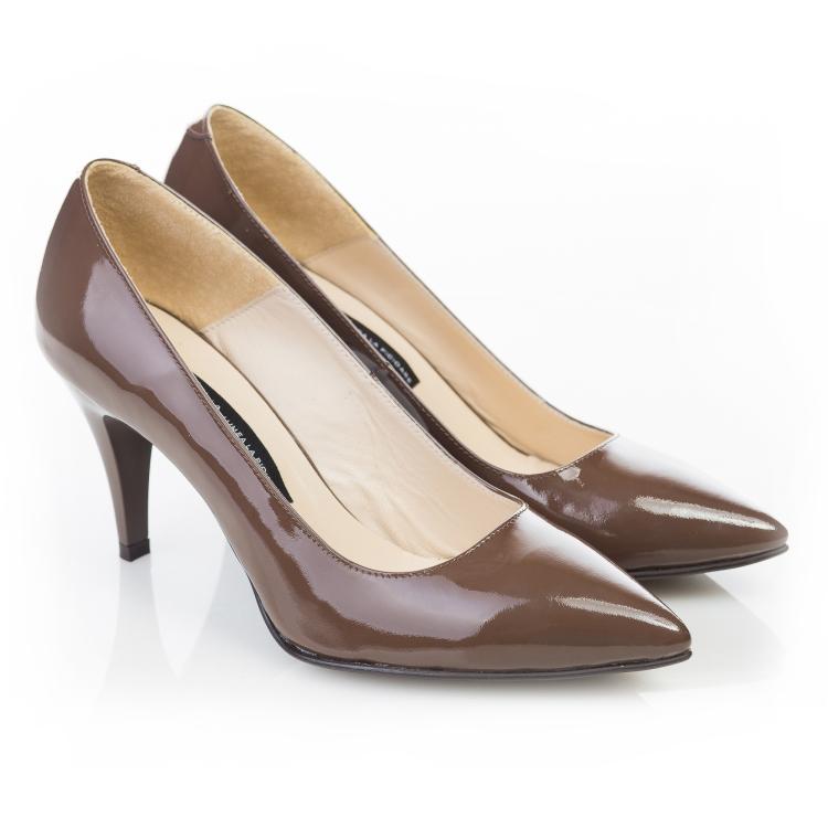 Pantofi stiletto Chocolat 2