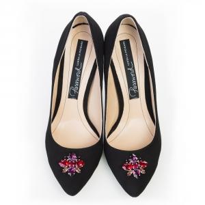 Pantofi stiletto cu Swarovski 5