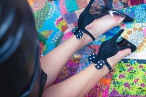Pantofi cu toc și baretă Disneyland 5
