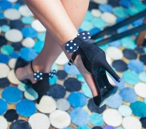 Pantofi cu toc și baretă Disneyland 8