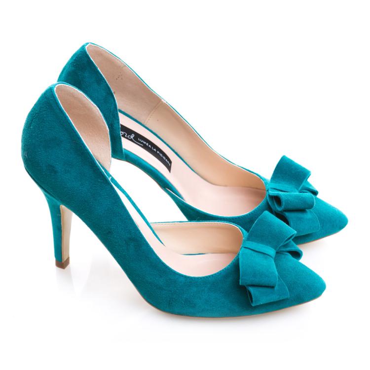 Pantofi cu toc și fundiță Serenity 2