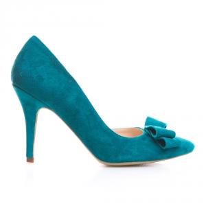 Pantofi cu toc și fundiță Serenity 3