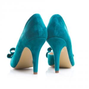 Pantofi cu toc și fundiță Serenity 4