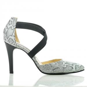 Pantofi snake print 3