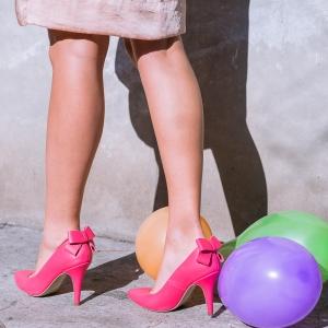 Pantofi cu toc Paprika 5