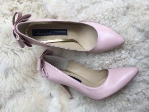 Pantofi nude rozaliu