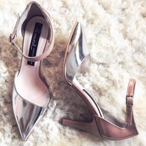 Pantofi silver