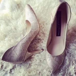 Pantofi snake auriu