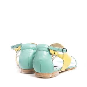 Sandale galbene 4