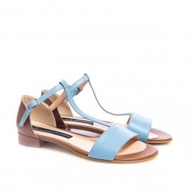 Sandale bleu 2