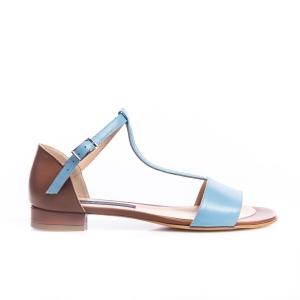 Sandale bleu 3