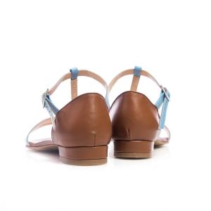 Sandale bleu 4