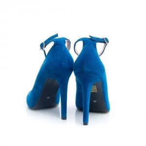 Pantofi inalti cu barete 4