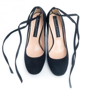 Pantofi negri comozi 2