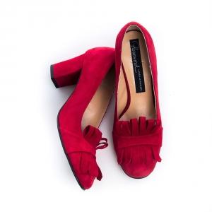 Pantofi rosii 6