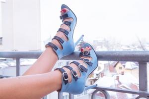 Pantofi cu barete Goddess