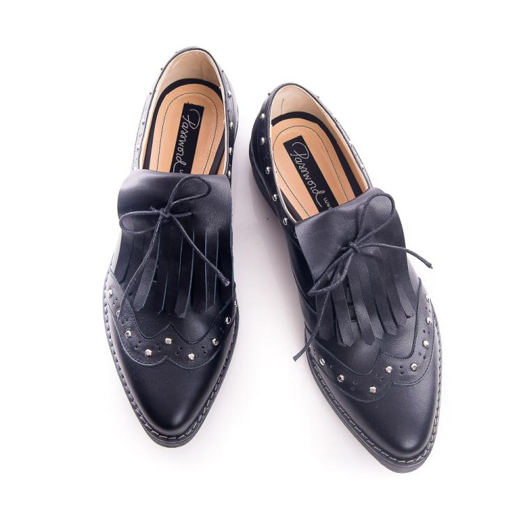 Pantofi derby cu franjuri 5
