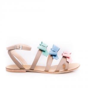 Sandale joase cu fundițe Cravings 3