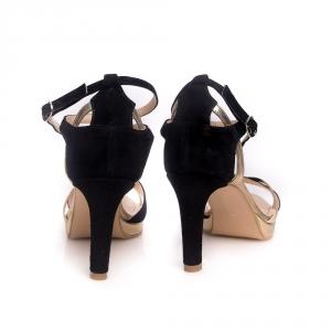 Sandale cu barete încrucișate și platformă Stop and Stare 4