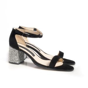 Sandale cu glitter 3