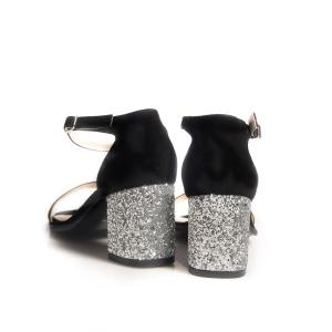 Sandale cu glitter 2