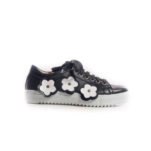 Sneakersi cu flori 2