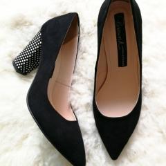 Pantofi-cu-toc-gros