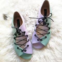 sandale-joase-bicolore