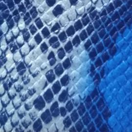 Albastru bleu snake print