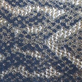 Auriu-negru snake print