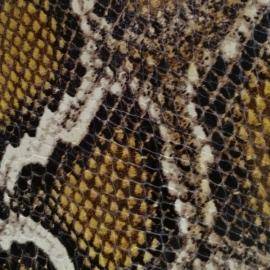 Galben mustar snake print