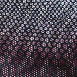Marsala argintiu snake print