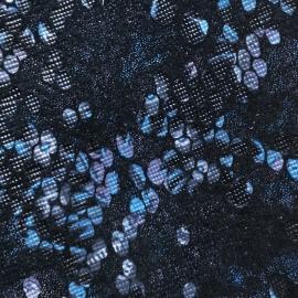 Negru cu bleu si lila