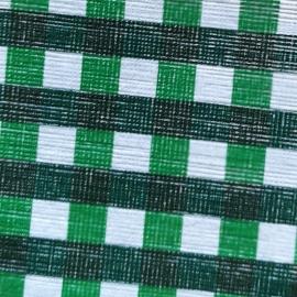 Patrate alb verde