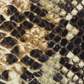 Snake print negru bej maro