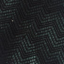 Verde inchis texturat in V